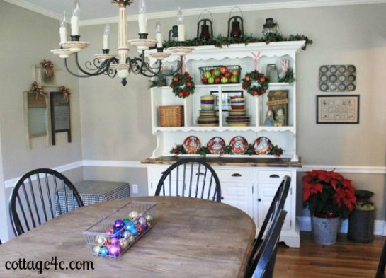 Merry Little Christmas House Tour Dining Room