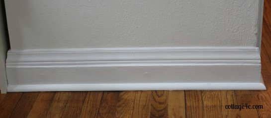 Pictures of baseboard molding styles for Baseboard style