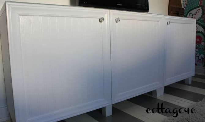 ikea hack besta cabinets cottage4c. Black Bedroom Furniture Sets. Home Design Ideas