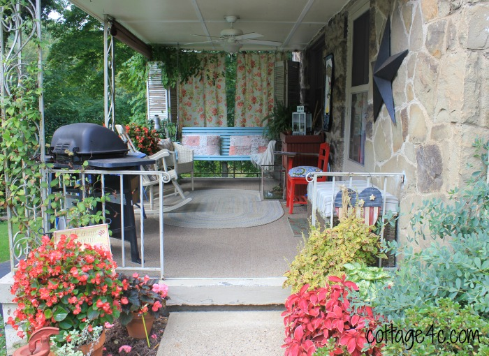Late Summer Porch - cottage4c