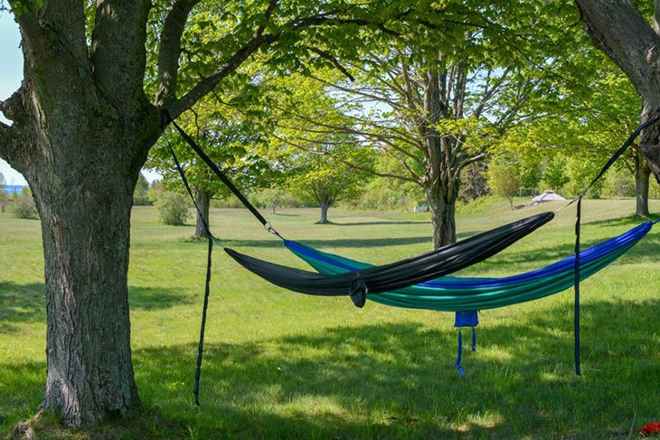 how high to hang a hammock